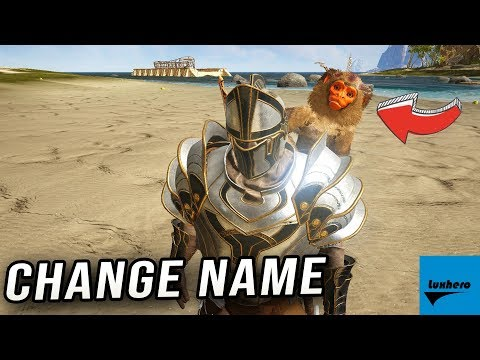Atlas - How to Change Tamed Creature's Name