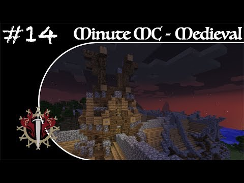 Minute Minecraft - Time Lapse - Medieval Village - Ep.14