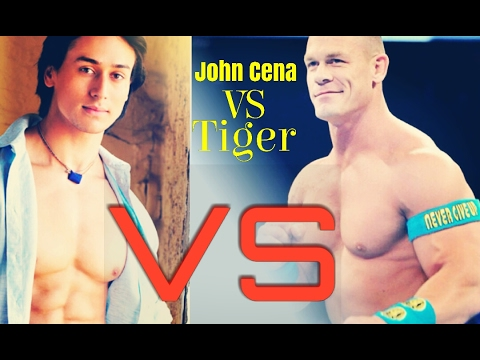 John cena VS Tiger shroff | John Cena accept beat pe booty Challenge