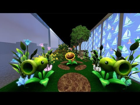 The Sims 3 LIVE! Building/Decorating a Bunker House - Part 18 Secret Garden (More)