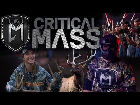 Mossy Oak's Critical Mass - NEW Extreme Archery and Hunting Show for 2018!