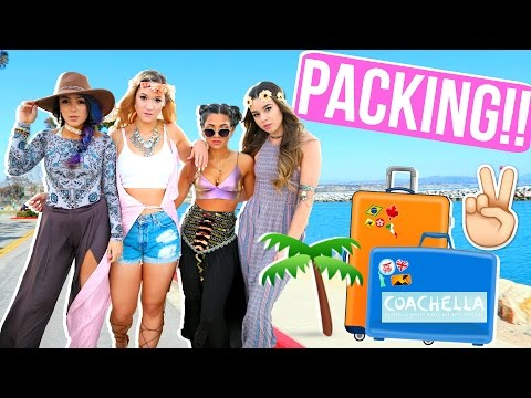 PACKING FOR COACHELLA!!! + ROAD TRIP TO PALM SPRINGS!!!