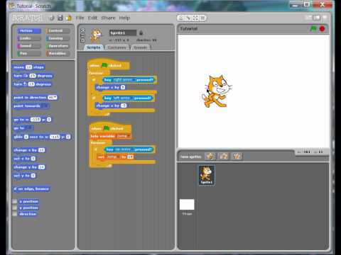 Scratch Tutorial- How to Jump