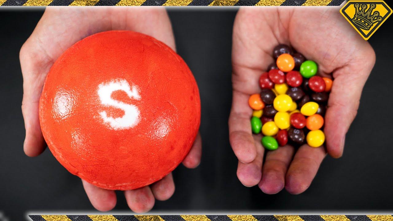 Making Hamburger Sized Skittles