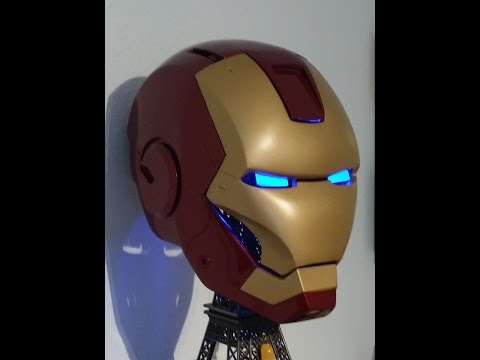 Iron Man Helmet Toturial Pepakura