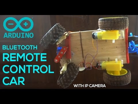 Arduino Remote Control Bluetooth Car with Camera - Android