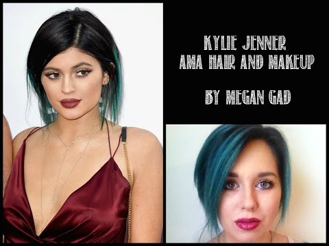 Kylie Jenner 2014 AMA Hair and Makeup