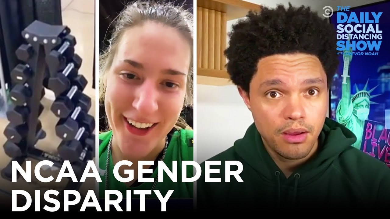 NCAA's Gender Discrimination Goes Beyond the Weight Room   The Daily Social Distancing Show