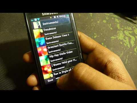 Samsung Bada Tips - How to Change Thumbnail of a Playlist in Bada 1.2