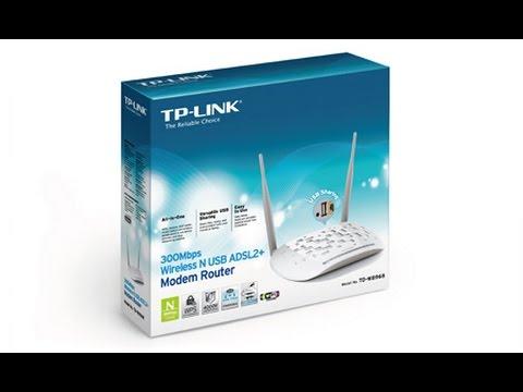 الحلقة 2: Configuration Modem TP-LINK TD-W8968