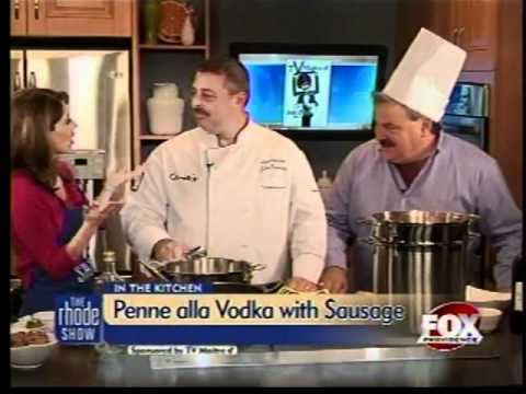 Cooking: Penne alla Vodka with Spicy Sausage