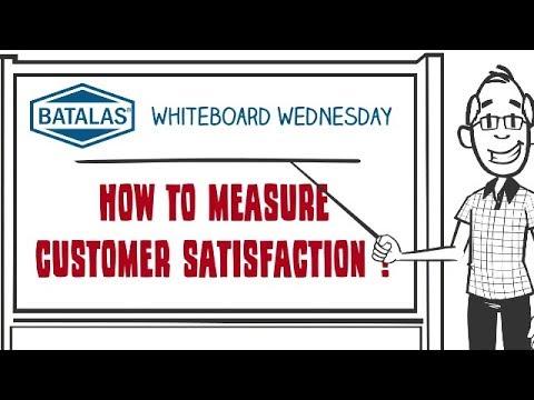 Batalas - How to measure customer satisfaction
