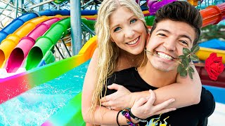 I Had a Date at a WATER PARK with Preston!