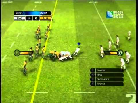 Rugby World Cup 2011 Gameplay - Full Tournament - Match 7 vs Australia (Final)