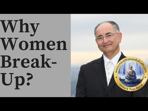 Why Some Women Initiate The Break-Up After Years Of Love?  Q & A Live Talk # 154