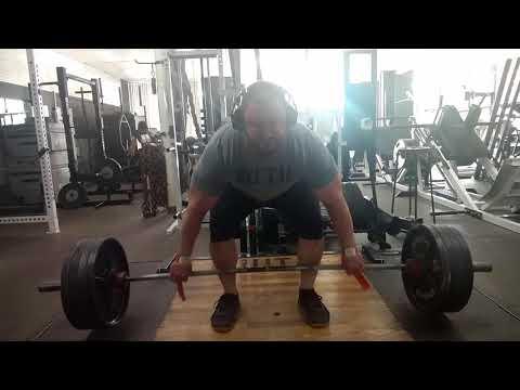Brutal Iron Gym - Snatch Grip Deadlifts (see description)