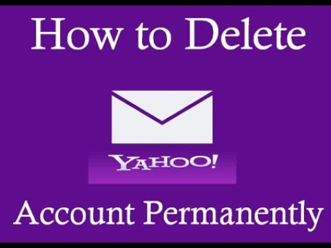 How to delete Yahoo account permanently from Mobile  Rajnish Kumar