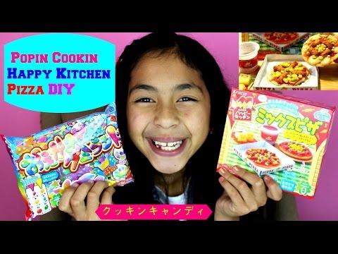 POPIN' COOKIN' PIZZA DIY KRACIE HAPPY KITCHEN   B2cuteCupcakes