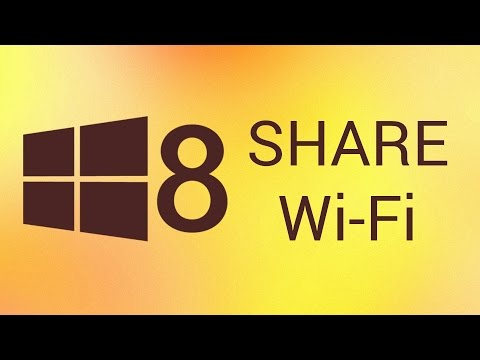 How to Share Internet Connection in Windows 8