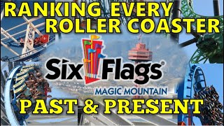 Ranking Every Coaster EVER at Six Flags Magic Mountain