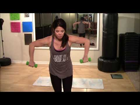 GET AMAZING ARMS FAST! AT HOME! Slim & Lean Arms PART 2