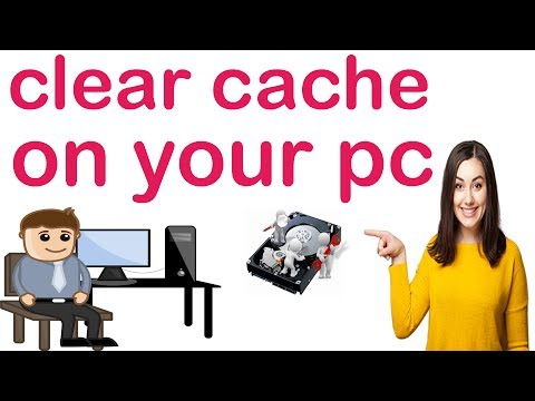 How to clear cache on windows 7,8,10,XP