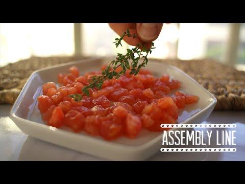 Knife Technique: Concasse | Assembly Line