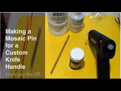 Making a Custom Mosaic Pin for your Knife