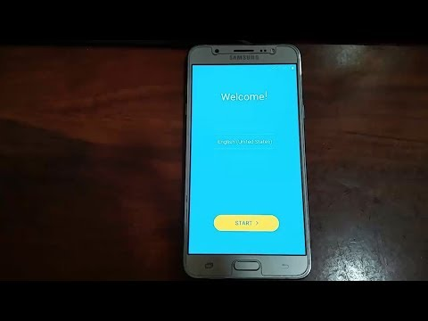 how to remove Google account on samsung galaxy J7 6 2016 J710fn J710h J710f J710G J710GN