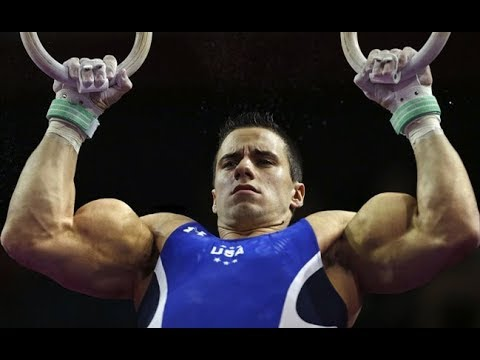 Why do Men's Gymnasts have such Big Biceps?