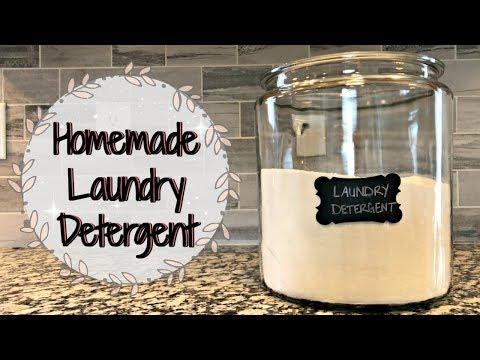 HOMEMADE LAUNDRY DETERGENT :: NON TOXIC RECIPE :: SIMPLE & EASY
