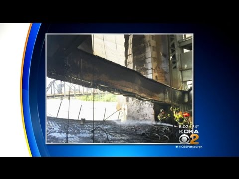PennDOT: Fire On Liberty Bridge Caused Steel Beam To Buckle, Bend