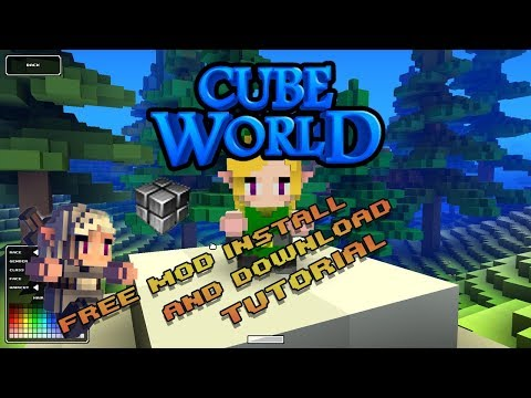 How to Install and Download CubeWorld Mods |2018|Free|LauncherPlus|