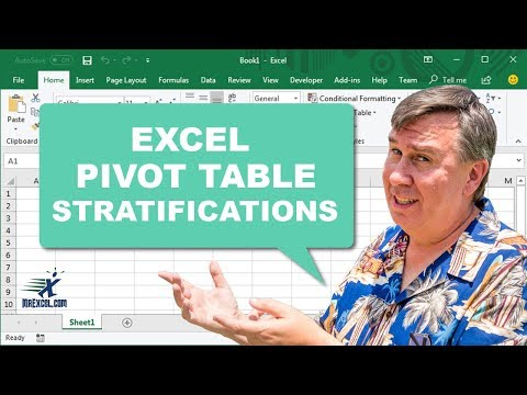 Learn Excel - Stratifications - Podcast 2101