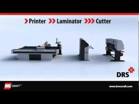 DRS - Digital Road Sign Fabrication System (Printer, Laminator, Cutter)