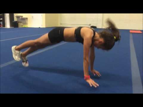 4 Drills To Fix Bent Arms In A Back Handspring