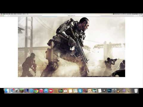 How to change your desktop background MAC (EASY)