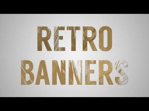 How to Create Retro Banners In Adobe Illustrator CS6