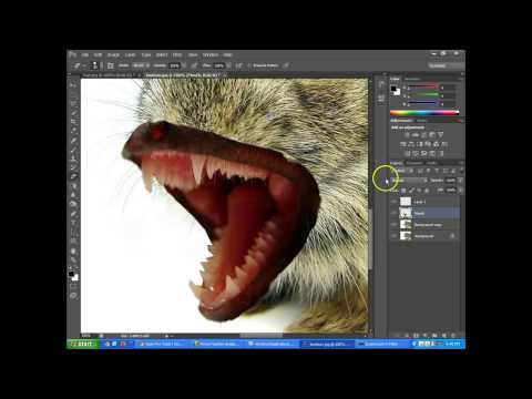 Photoshop CS6 - Combining and Blending Two Images Together