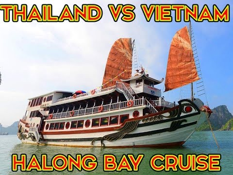 THE AMAZING HALONG BAY CRUISE - VLOGGING IN VIETNAM