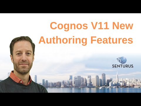 Cognos Analytics V11:  A Closer Look