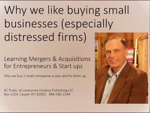 Why We Love Buying Small Companies - NEW INFO BELOW