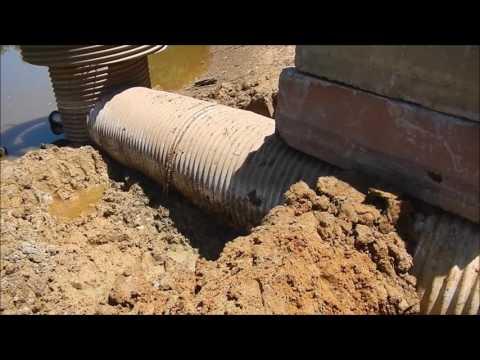 Floating Overflow Pipe Repair