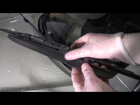 How to replace Toyota Camry windshield wipers years 2001 to 2015