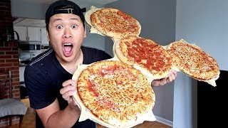 DIY GIANT PIZZA FIDGET SPINNER!!!! (HOW TO MAKE EDIBLE FIDGET SPINNERS)