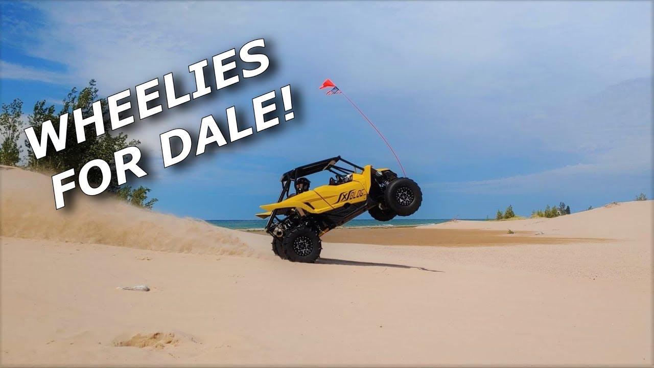Cleetus wheelies turbo YXZ, Beast Mode X3 RIPS and Coop SKIPS!