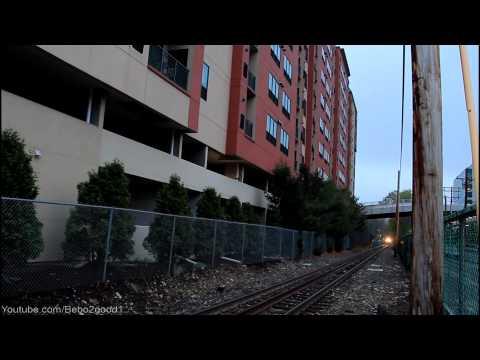 ConnDOT Danbury: Two Trains at Merritt 7, CT RR [BL20/P32]