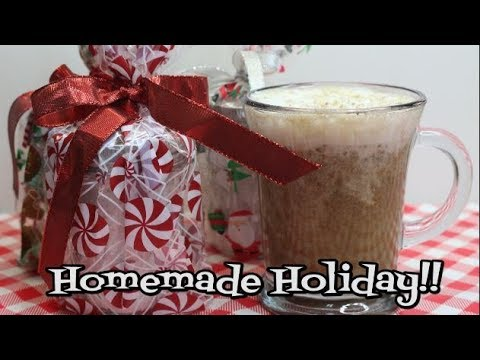 Creamy Vanilla Eggnog Latte Mix ~  Gift In A Jar ~ The Holidays are Coming ~ Noreen's Kitchen