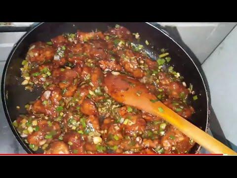 Garlic Fried Chicken (Chinese Cuisine)