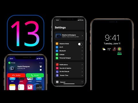 iOS 13 - Dark Mode, Always On Display, Redesign & More !
